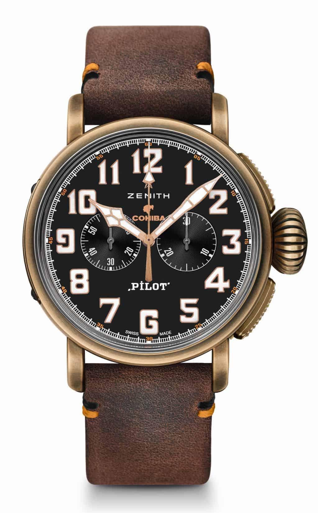 Zenith Pilot Type 20 Chronograph Cohiba-Maduro 5 4