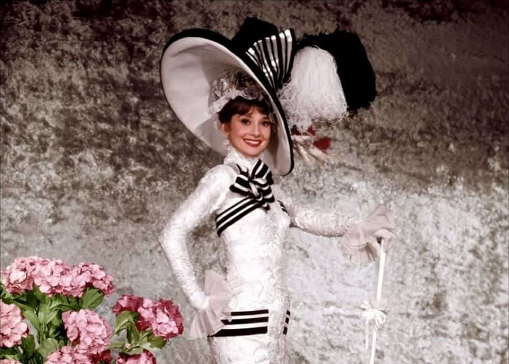 Audrey Hepburn's Ascot Costume from My Fair Lady