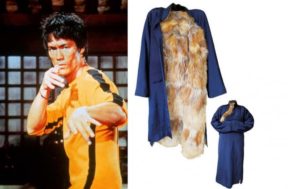 Bruce Lee's Fur Costume Coat