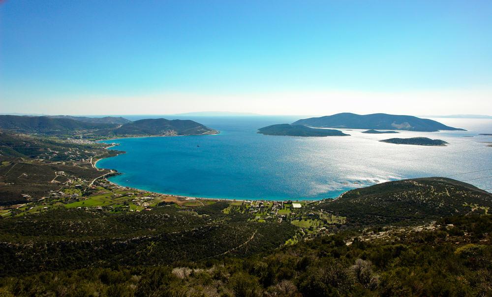 Evia Island in Grecia