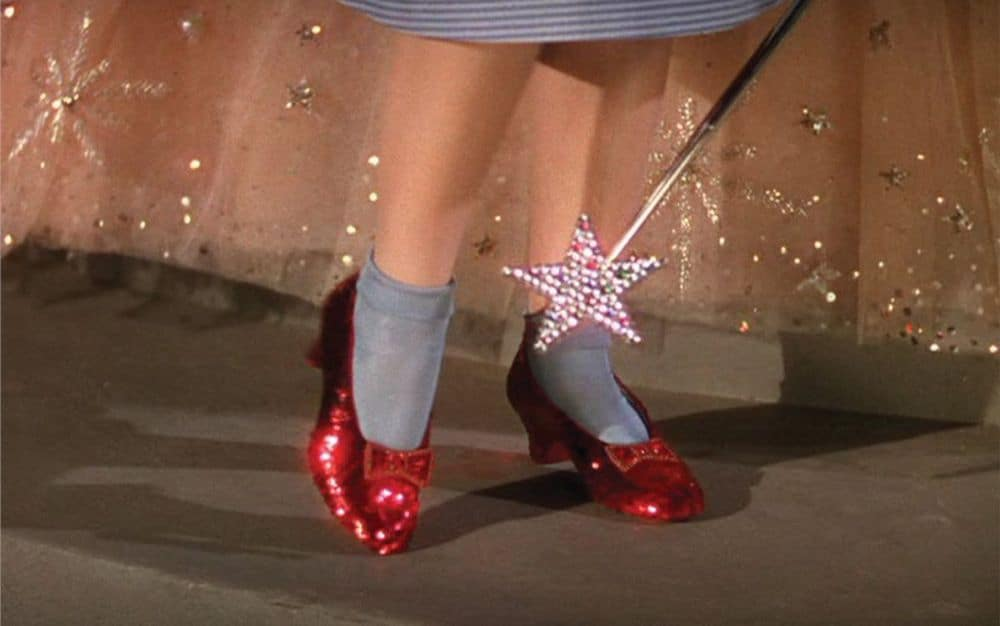 Judy Garland's Ruby Slippers from Wizard of Oz
