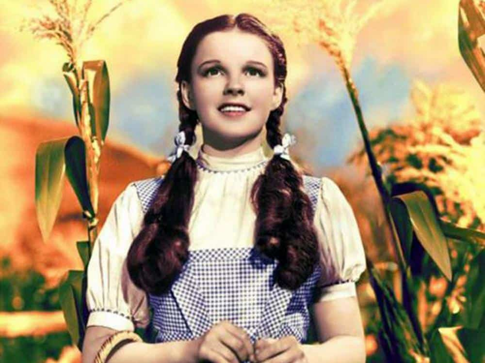 Judy Garland's Dorothy costume from Wizard of Oz