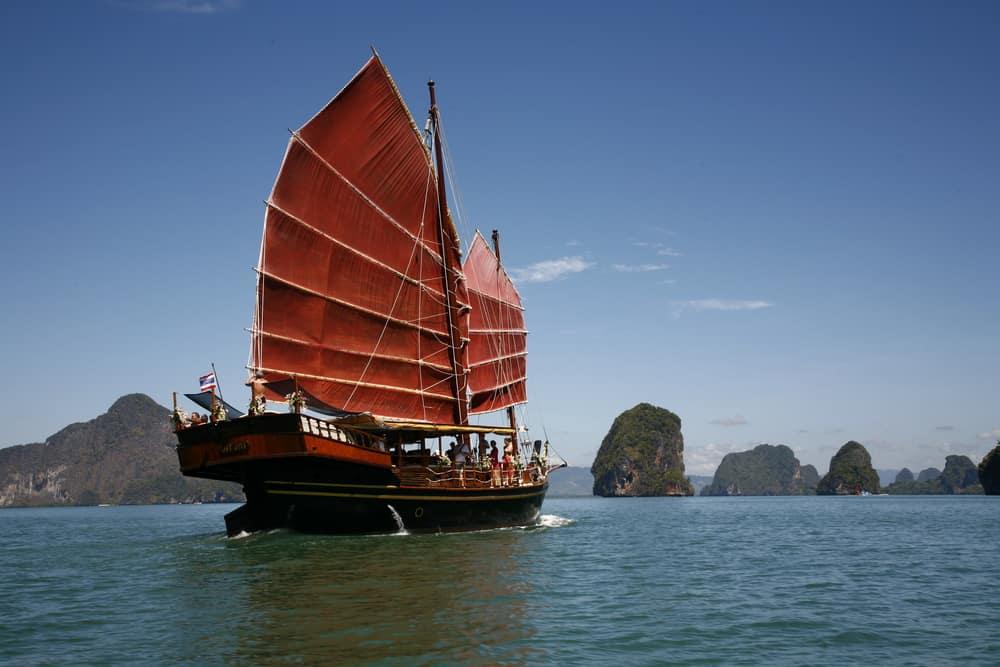 Junk Cruise Tailandia