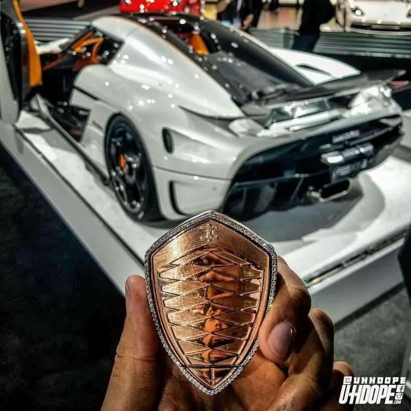 Koenigsegg Regera keyfob