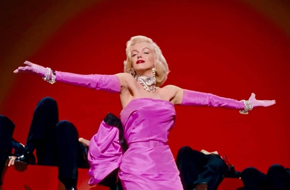 Marilyn Monroe's costume from Gentlemen Prefer Blondes