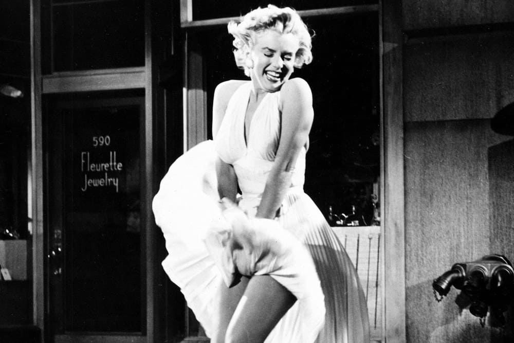 Marilyn Monroe's costume from The Seven Year Itch