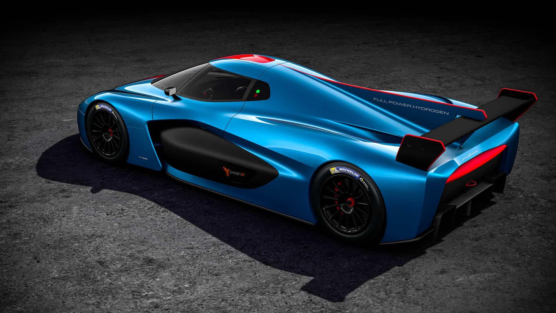 Pininfarina H2 Speed Concept: Pininfarina H2 Speed Hydrogen Track Car Moves Into Production