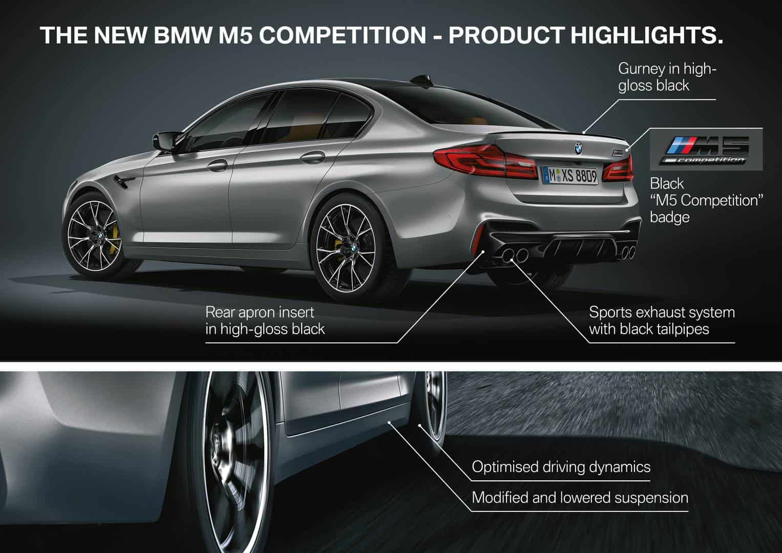2019 BMW F90 M5 Competition 5
