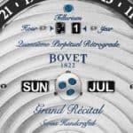 Bovet Récital 22 Grand Récital 9