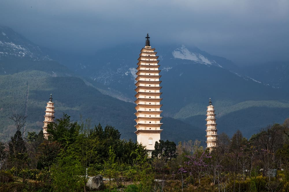 3 Pagodas of Chongsheng Temple