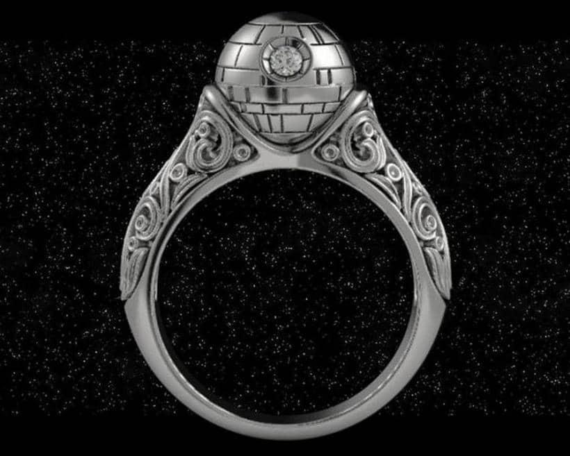 Death StarStar Wars Ring 2