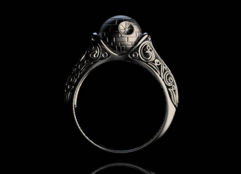 Death StarStar Wars Ring 4