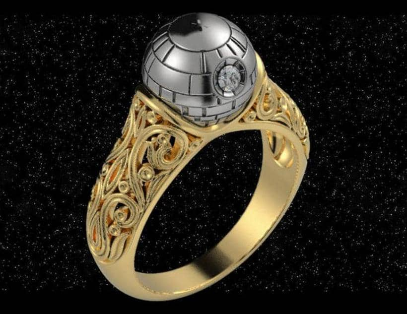 Death StarStar Wars Ring 5