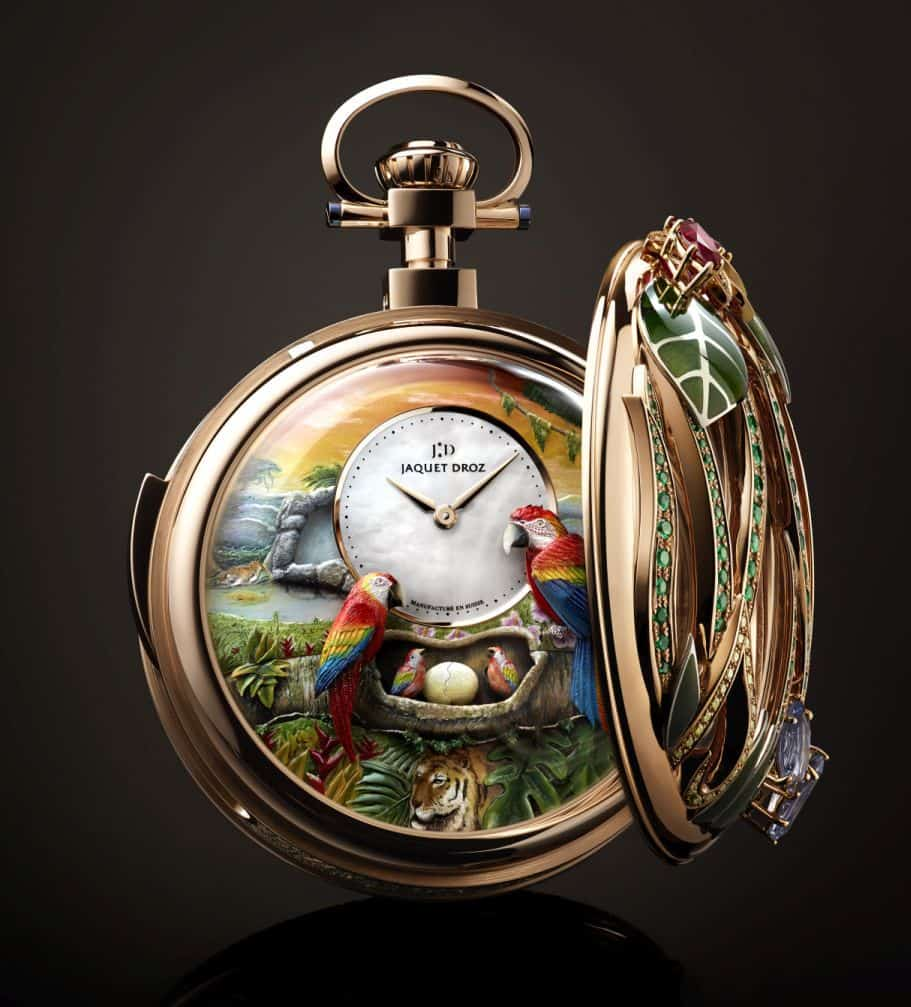 Jaquet Droz Repeater Pocket Watch