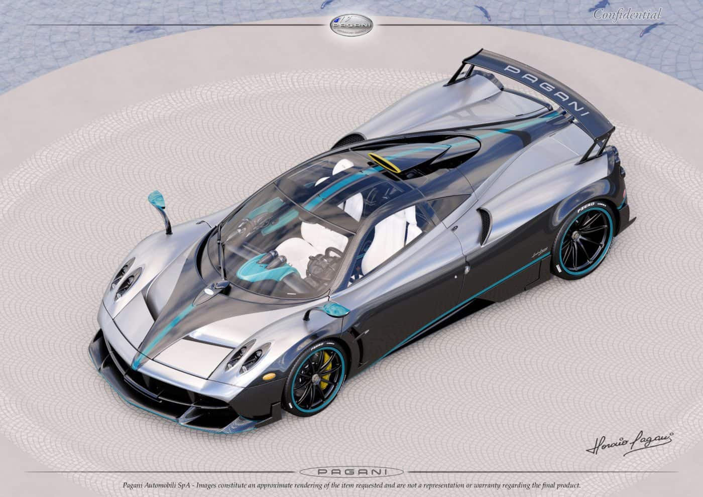 The Pagani Huayra Coupe Has Reached The Finish Line