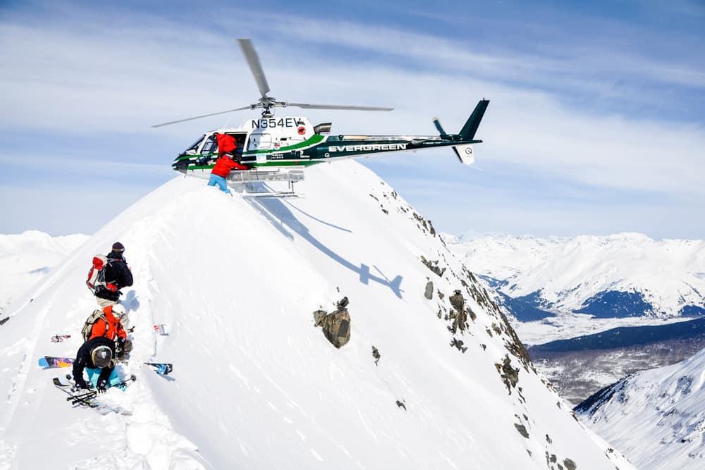 skien over de wereld