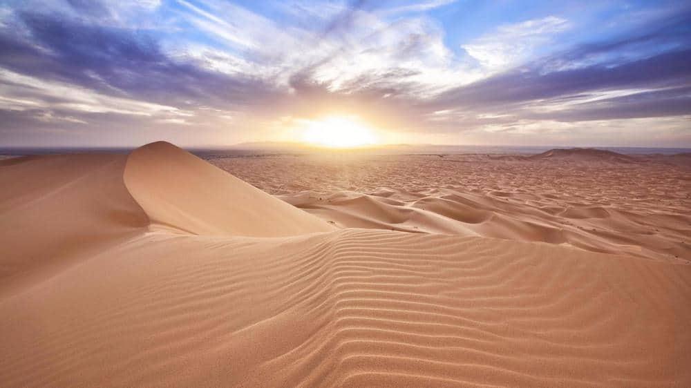 Traversing the Sahara desert