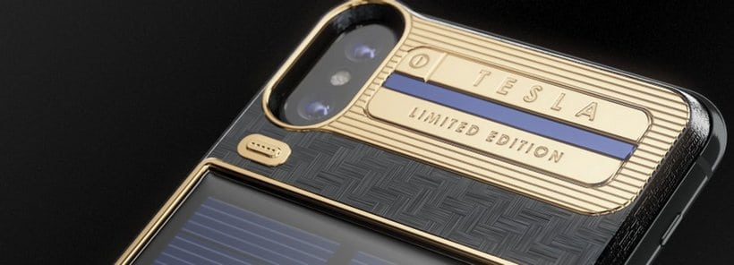 Tesla Limited Edition iPhone X