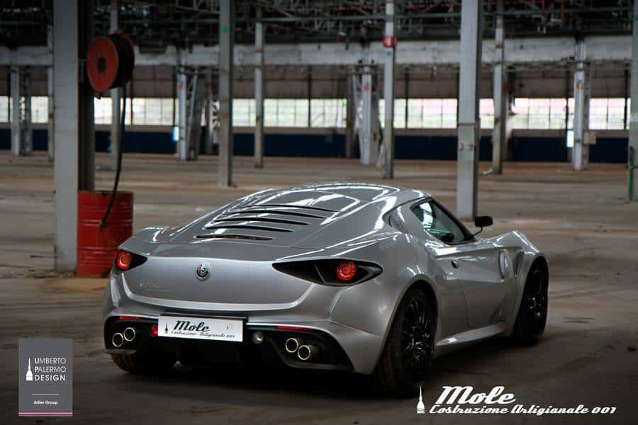 Alfa Romeo 4C mole design