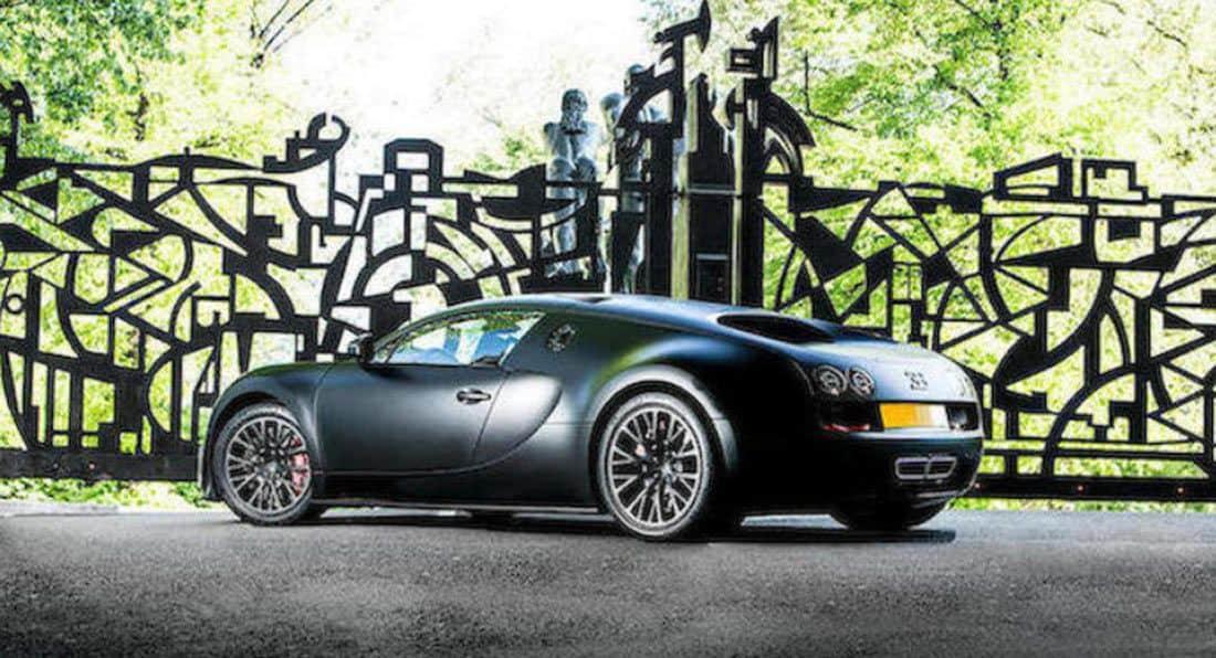 Last Bugatti Veyron Super Sport