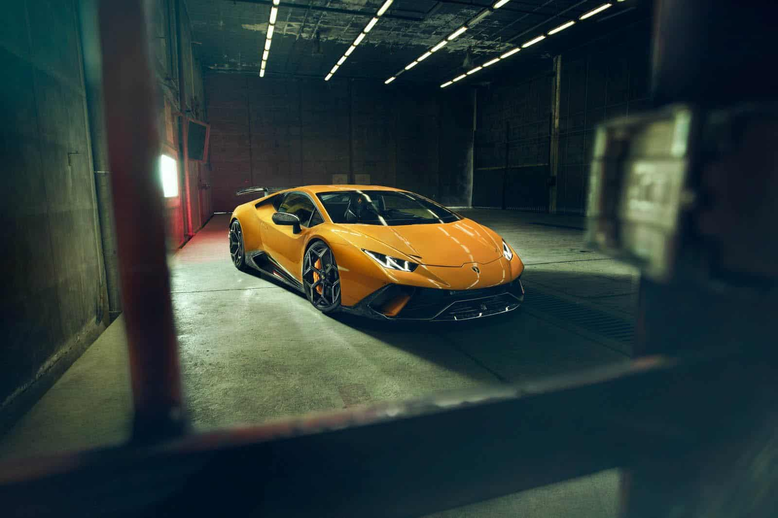 Novitec Accepts The Challenge Of Tuning The Lamborghini Huracan Performante