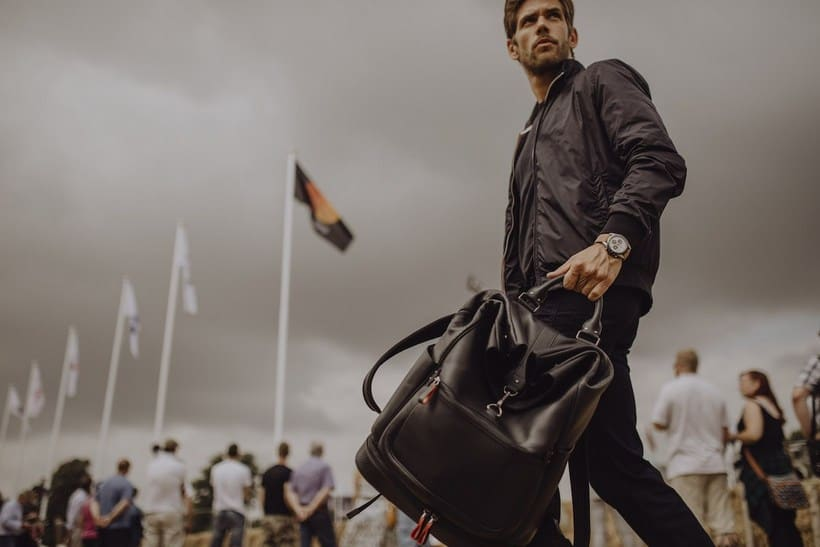 Looking Good: the Montblanc Urban Racing Spirit Leather Collection