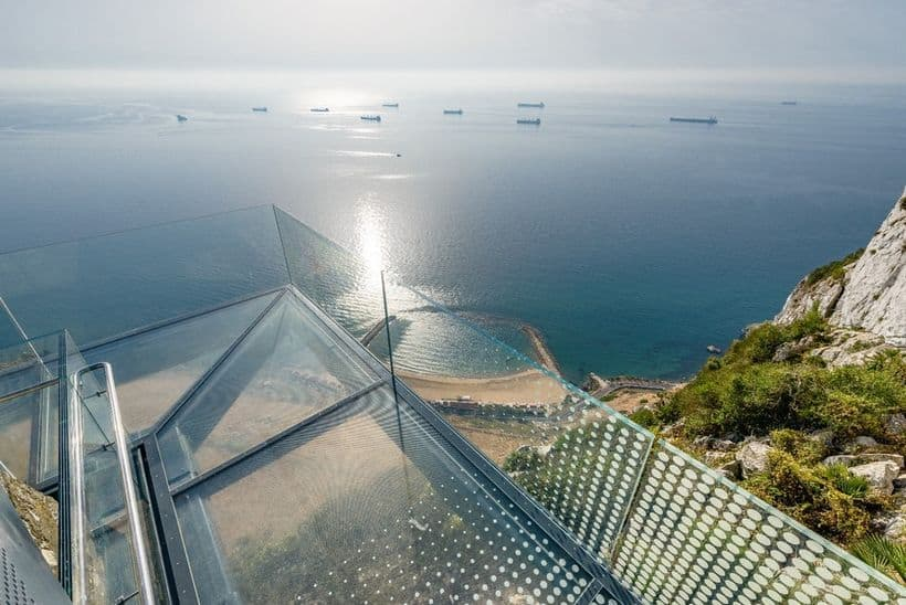 Gibraltar S Skywalk Is Not For The Fainthearted
