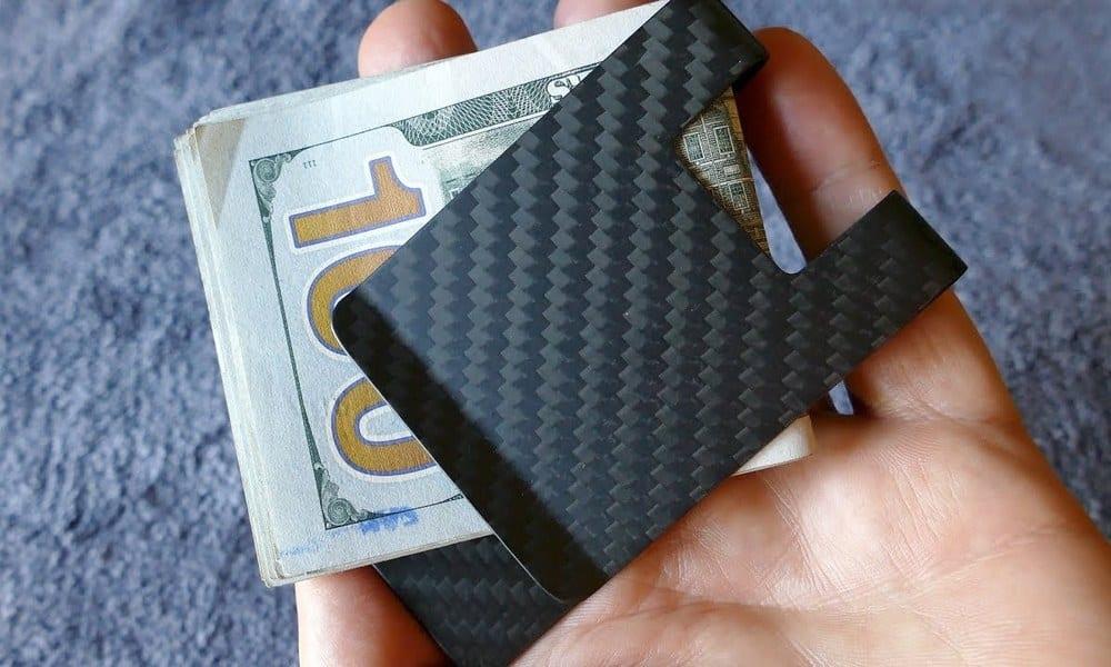 CL Carbonlife Money Clip