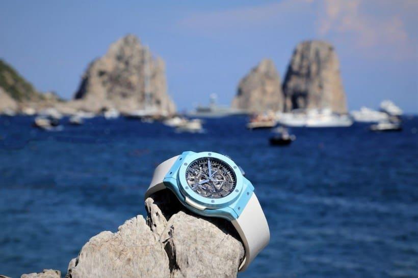 Hublot Classic Fusion Aerofusion Chronograph Capri 4