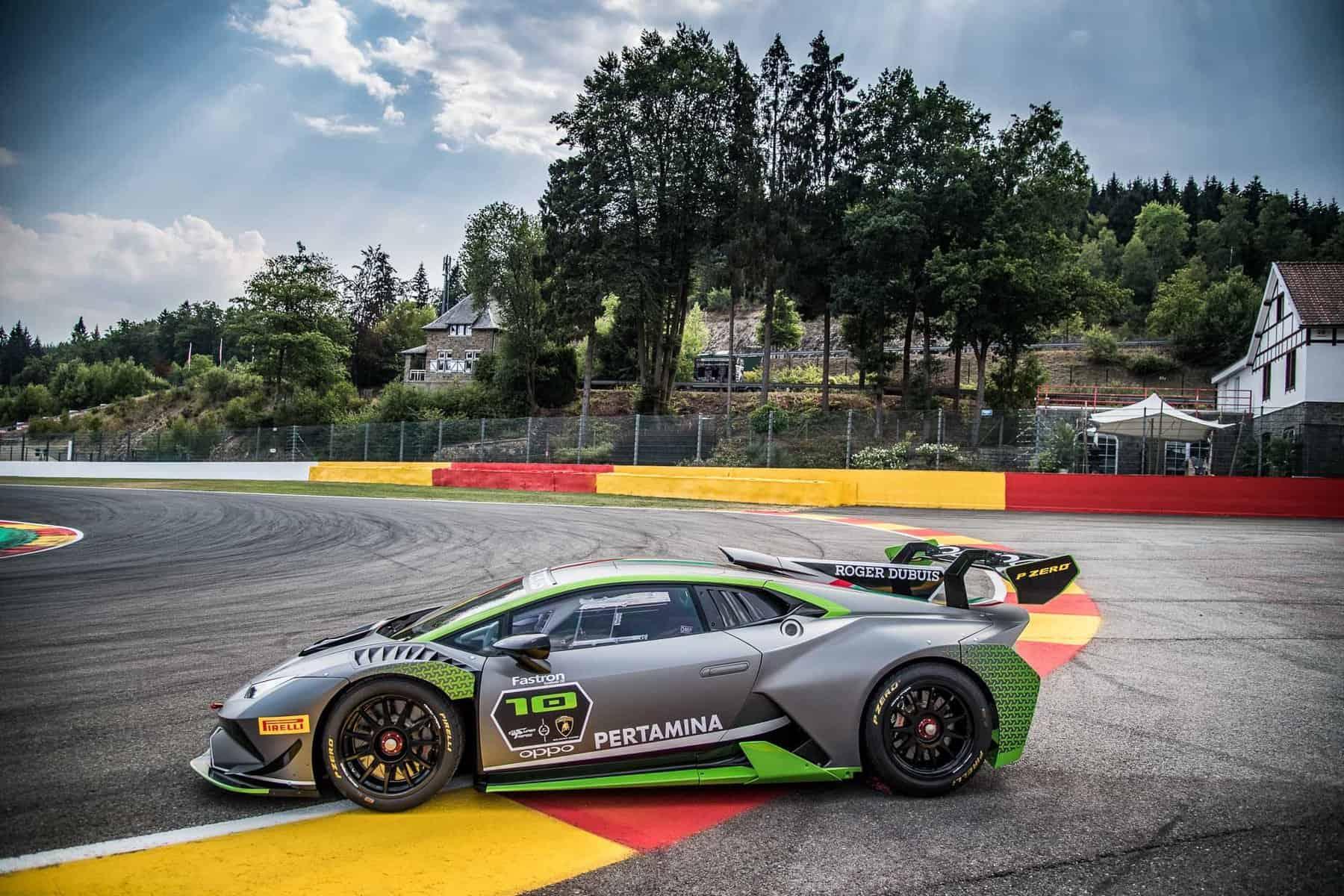Lamborghini Huracan Super Trofeo Evo 10th Edition