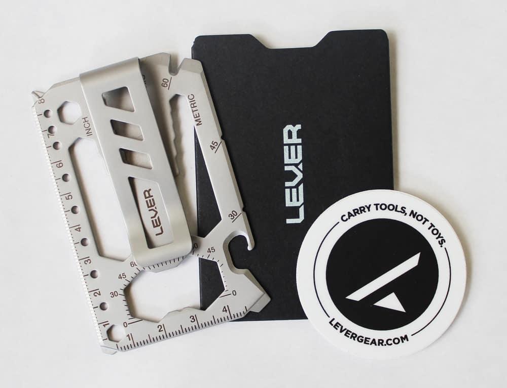 Lever Gear ToolCard Pro Money Clip
