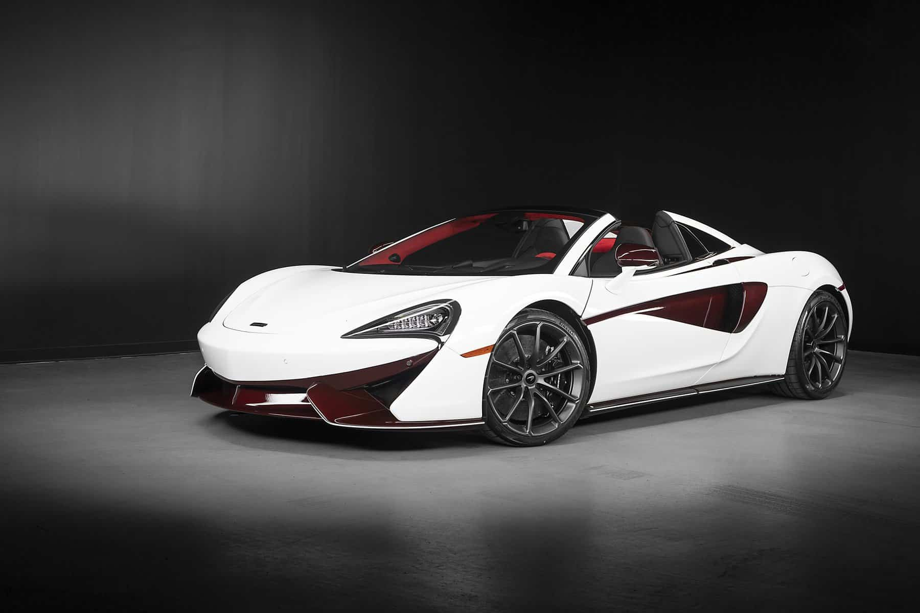 Canadians, this McLaren 570S Spider was Specially Made for You!