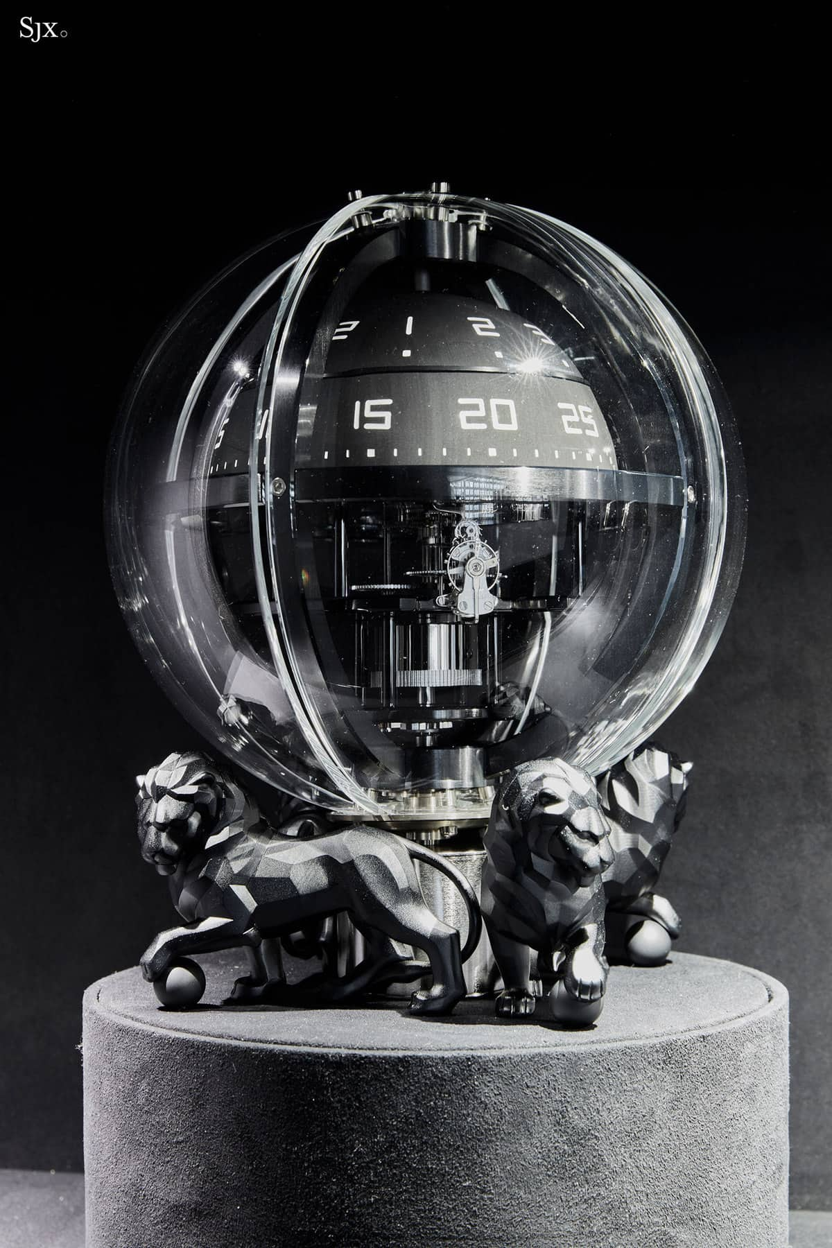A Gentleman's Toy – The Monsieur de Chanel Chronosphere Clock