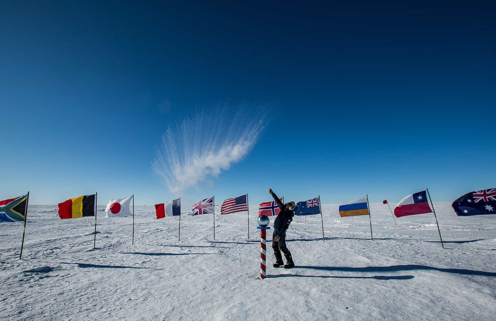 Six-Day Trip To the South Pole