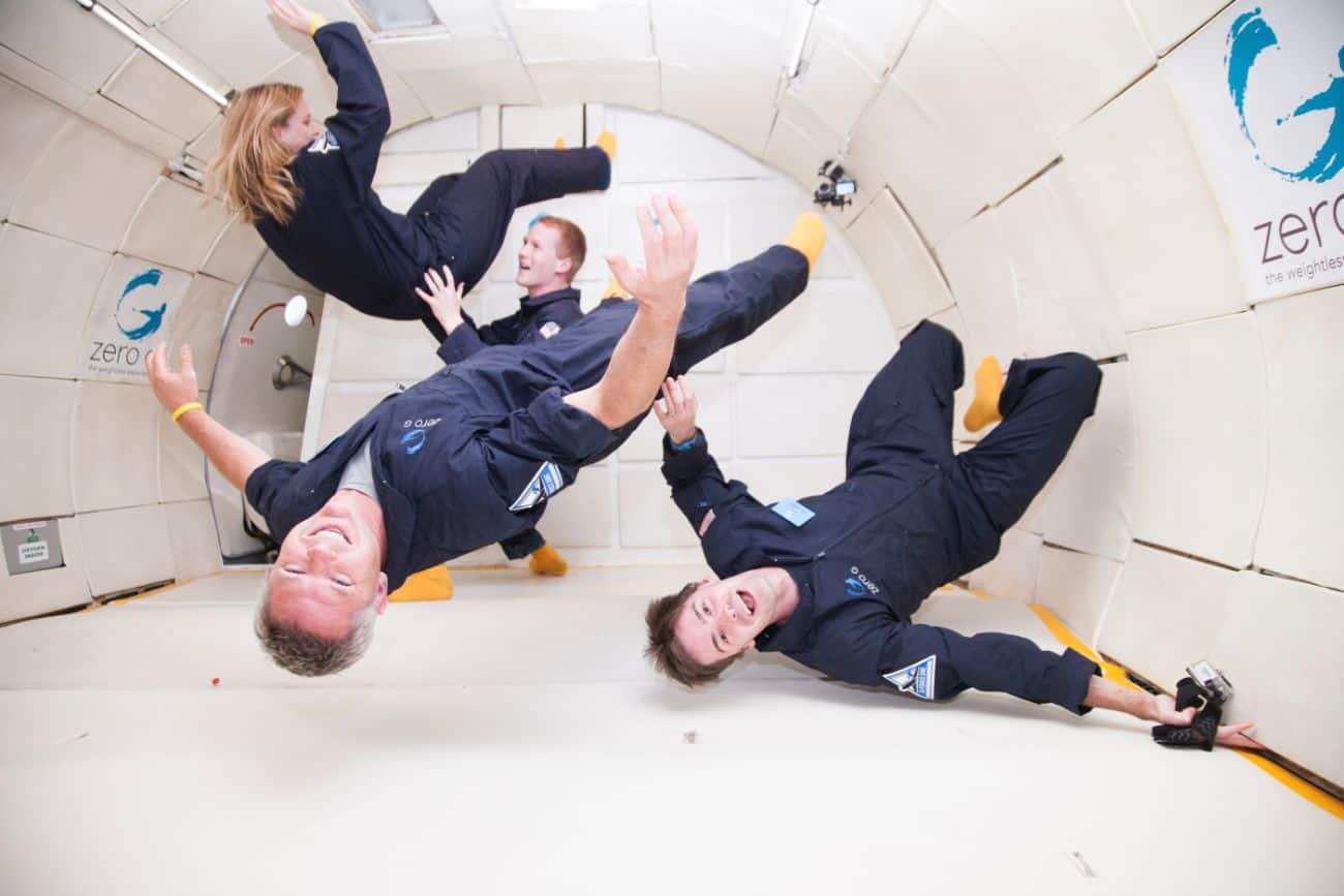 Zero G Flight With Your Friends