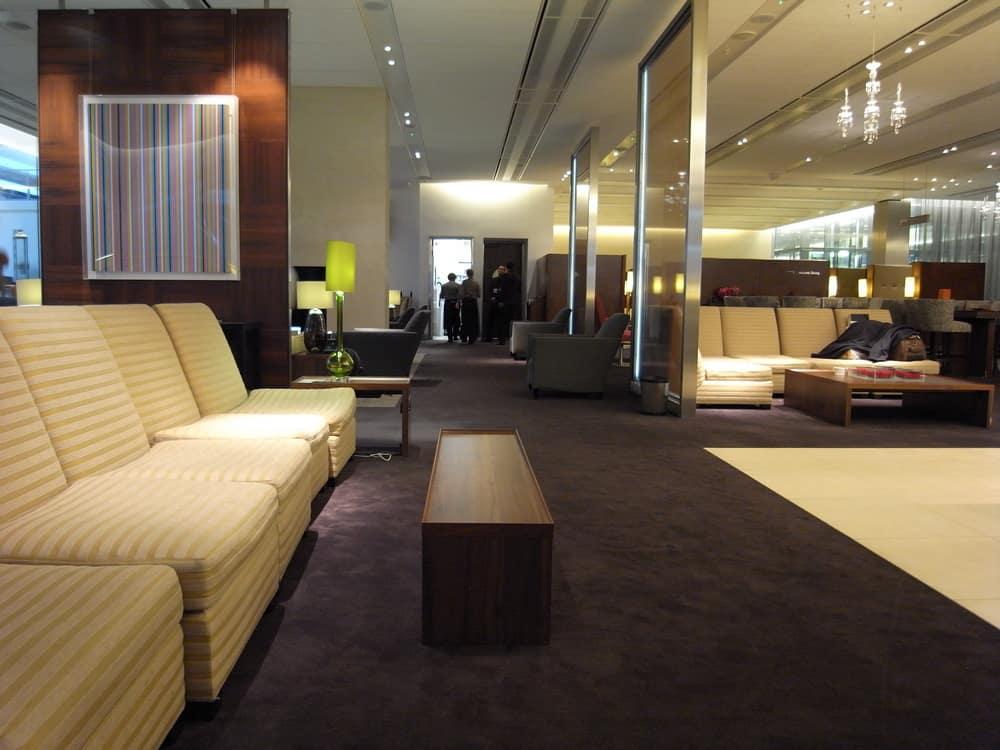 British Airways Concorde Room London Heathrow Airport 1