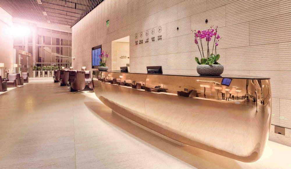 Qatar Airways Al Safwa First Lounge Doha Hamad International Airport 1