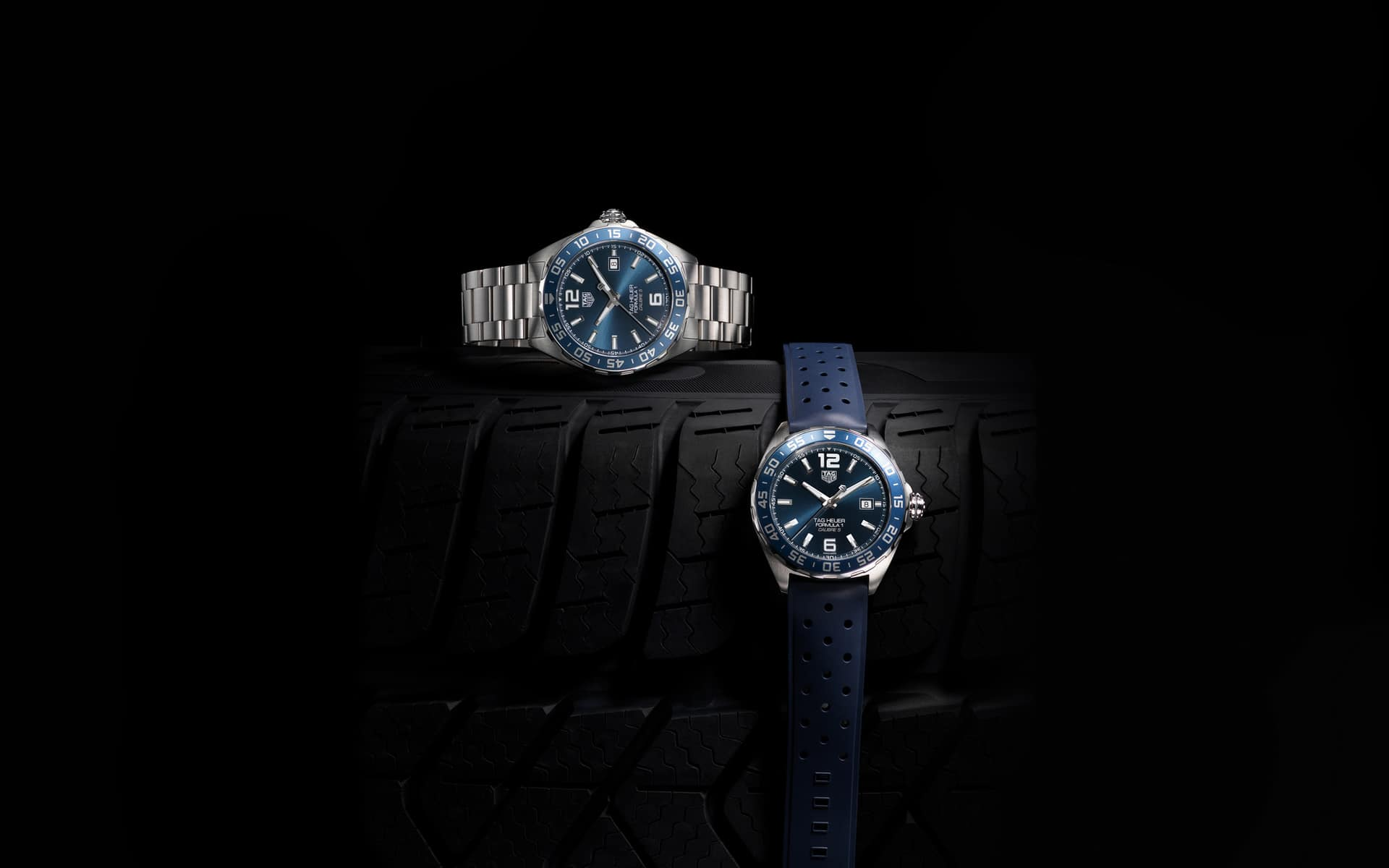 TAG Heuer Formula 1 Bucherer Blue Editions