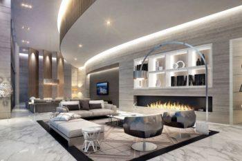 Custom Luxury living room