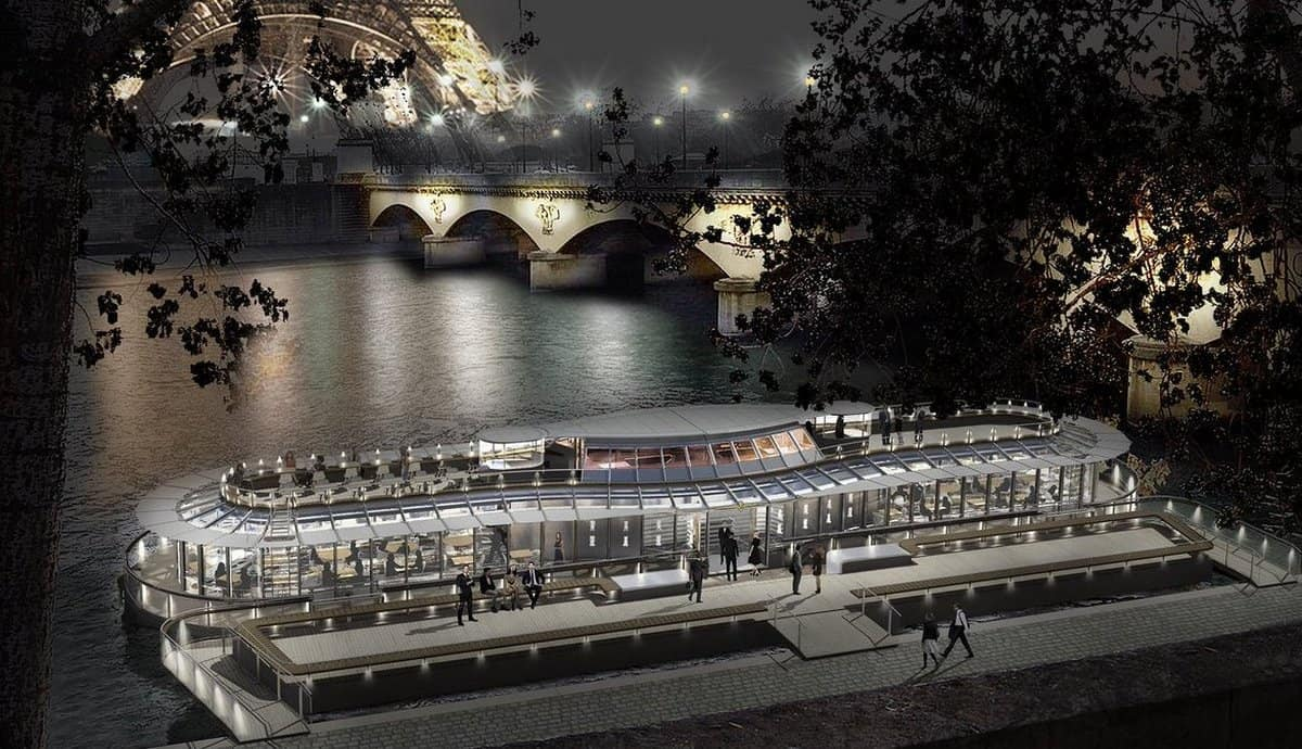 Ducasse sur Seine is a Floating Restaurant Like no Other
