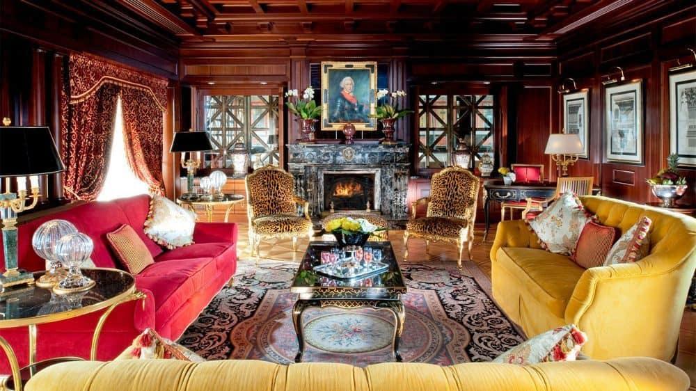 Suite presidenziale nell'Hotel Principe di Savoia