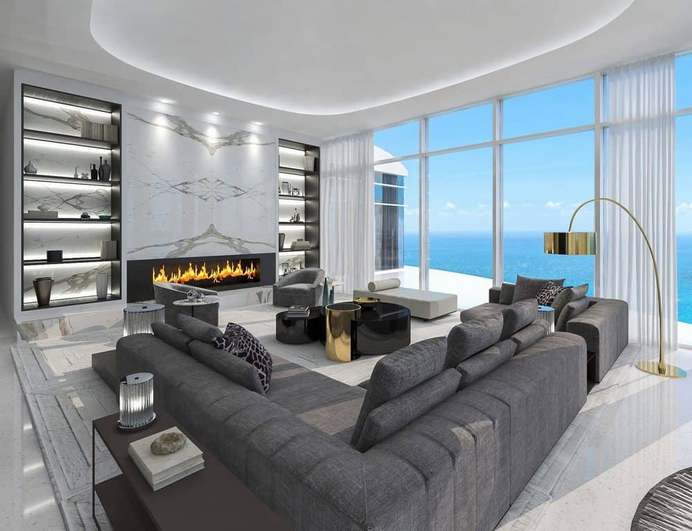 Ritz Carlton Penthouse Living Room