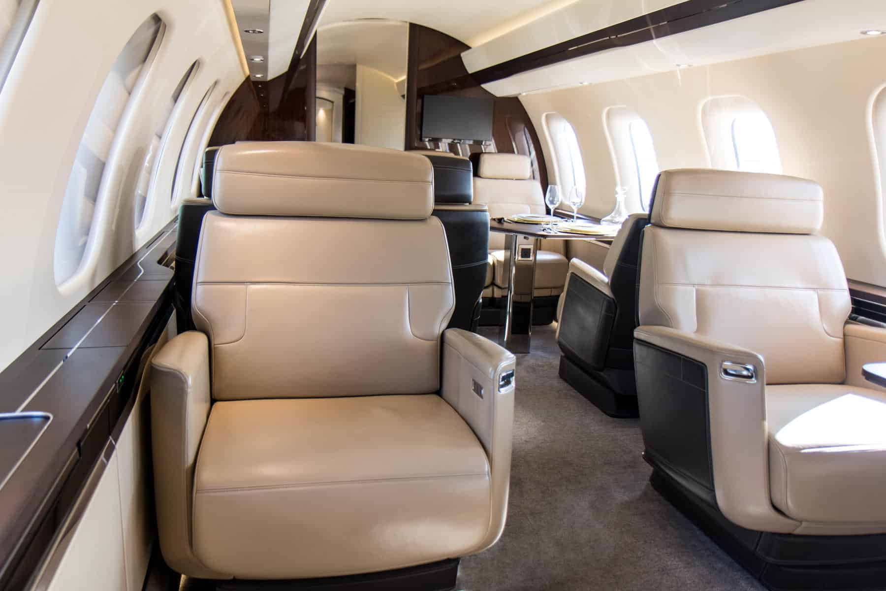 Bombardier Global 7500 Mock Up Tour 1