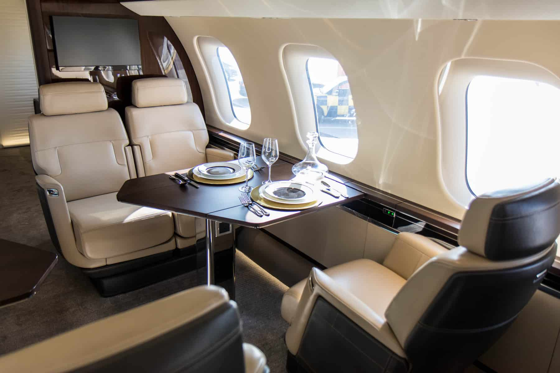 Bombardier Global 7500 nuage seats