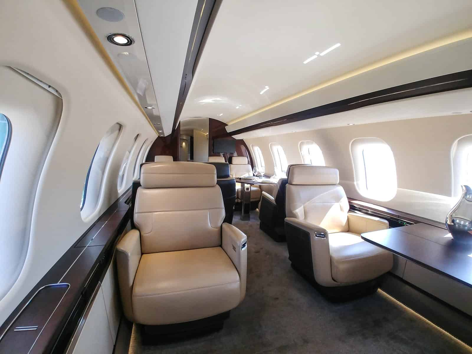 Bombardier Global 7500 main cabin