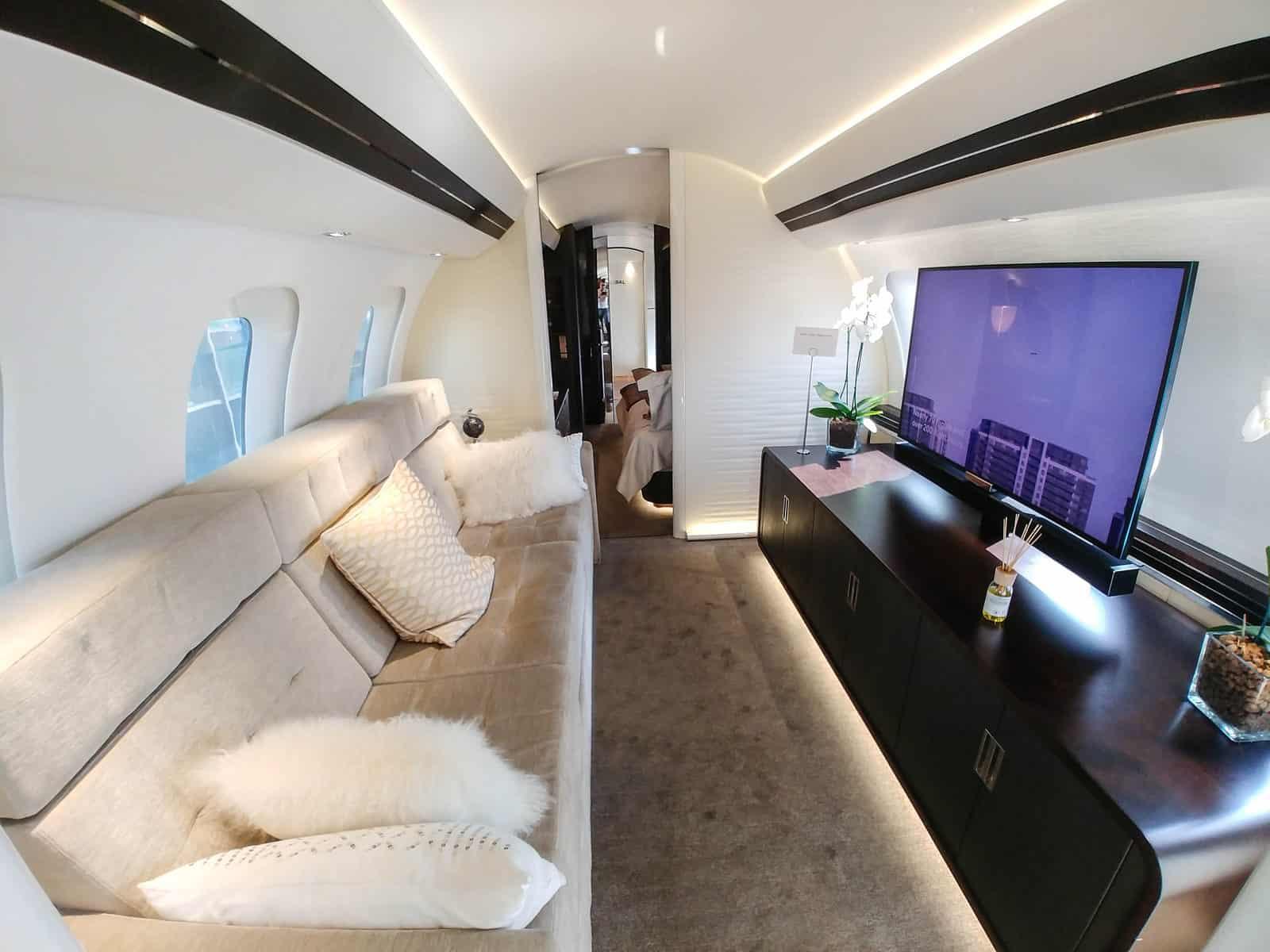 Bombardier Global 7500 Mock Up Tour 22