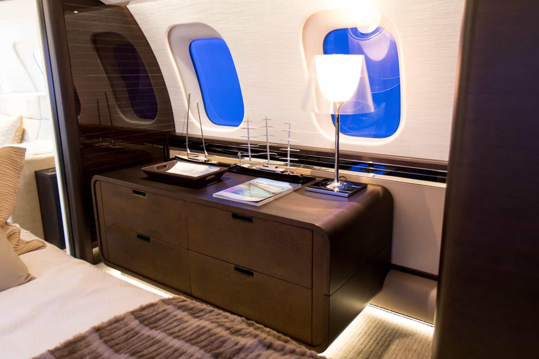 Bombardier Global 7500 Mock Up Tour 33