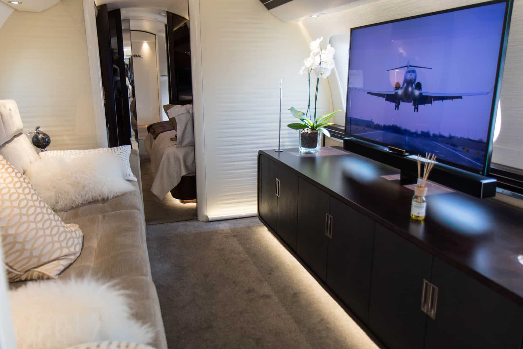 Bombardier Global 7500 entertainment suite