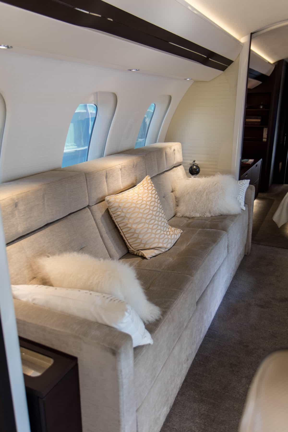 Bombardier Global 7500 Mock Up Tour 7