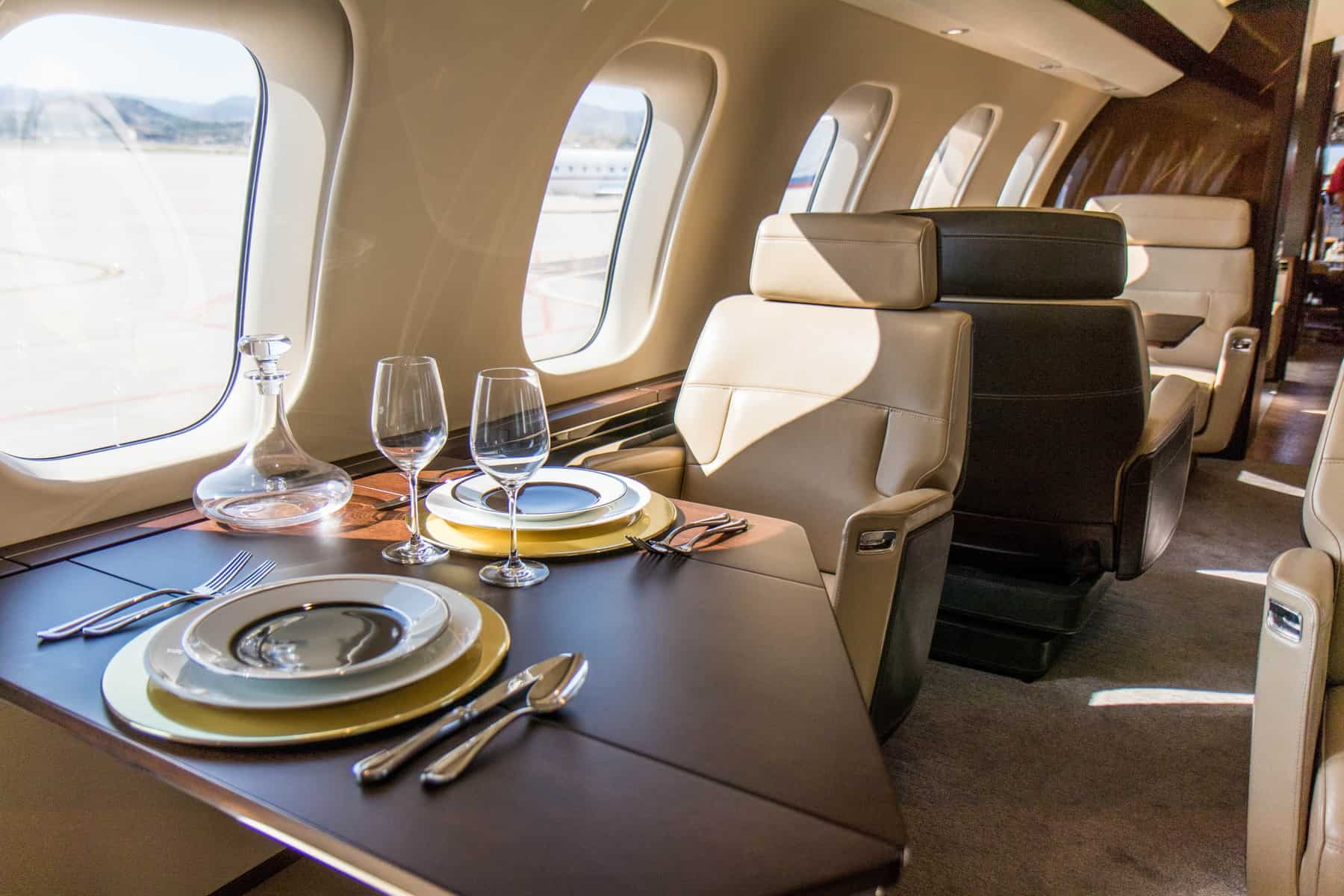 Bombardier Global 7500 club suite